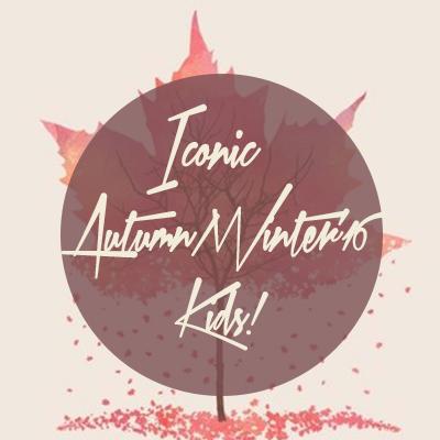 Iconic Autumn Winter'16 Kids